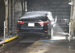 Vehicle in Car wash - get the Most Cash for a Vehicle Trade in